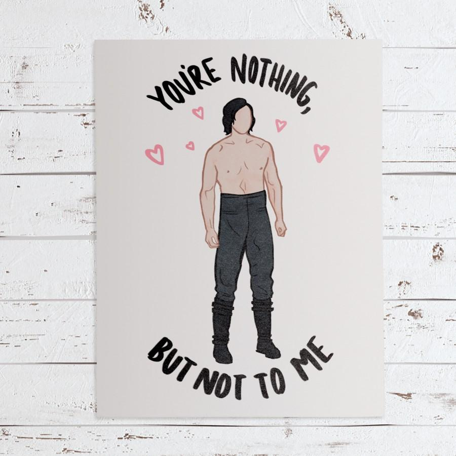 Wedding - Kylo Ren Ben Solo Star Wars Greeting Card