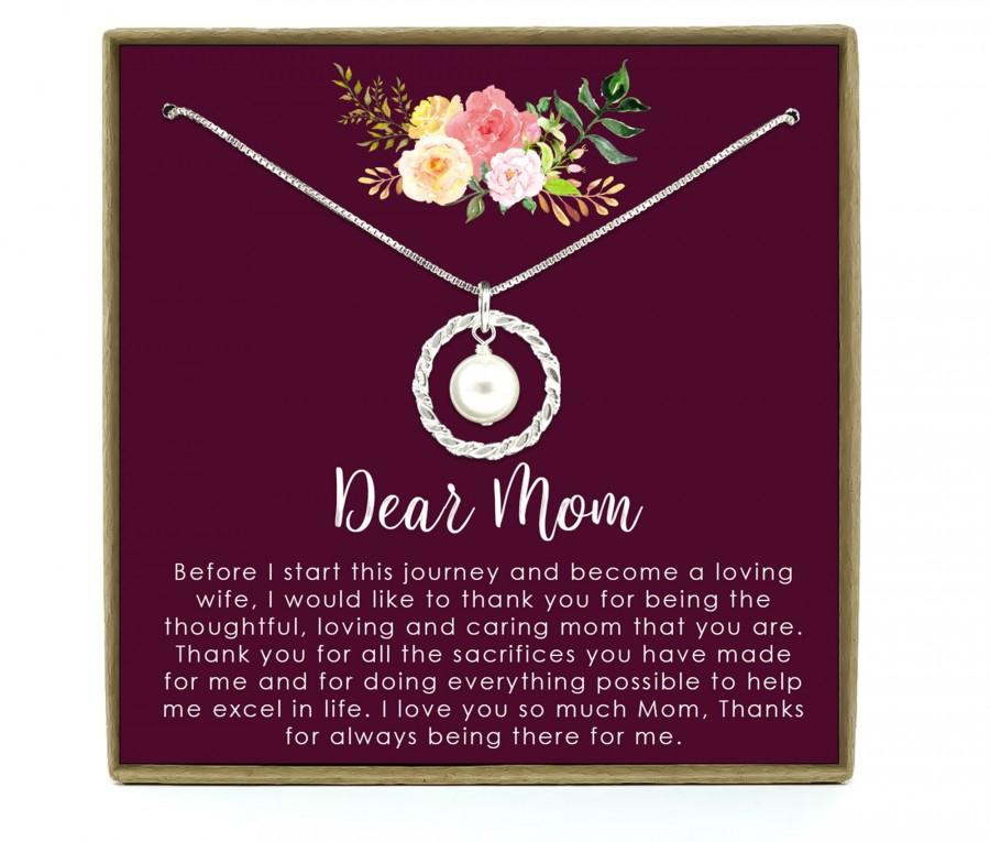 Wedding - Mom Wedding Gift, Mother of the Bride Gift, Gift from Bride, Wedding Gift for Mom, Mom Thank you Gift,  Gift from Daughter, Mom Gift