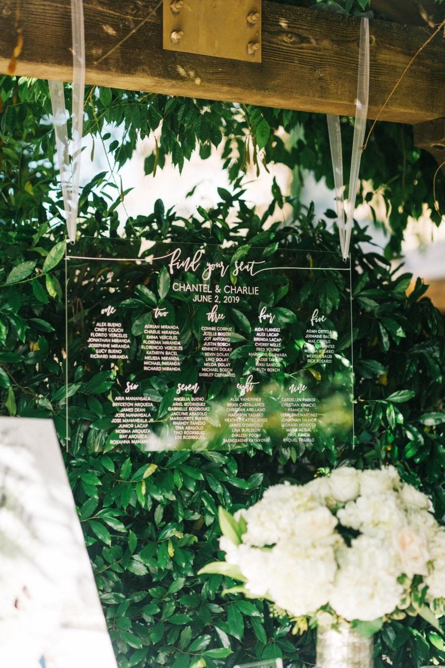 Свадьба - Wedding Seating Chart