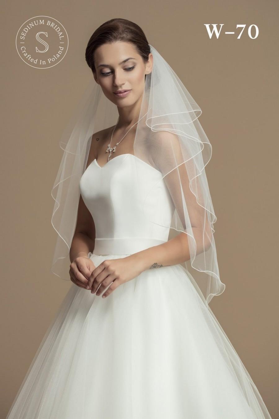 Свадьба - Bridal Veil made from High-Quality Tulle - Wedding Veil