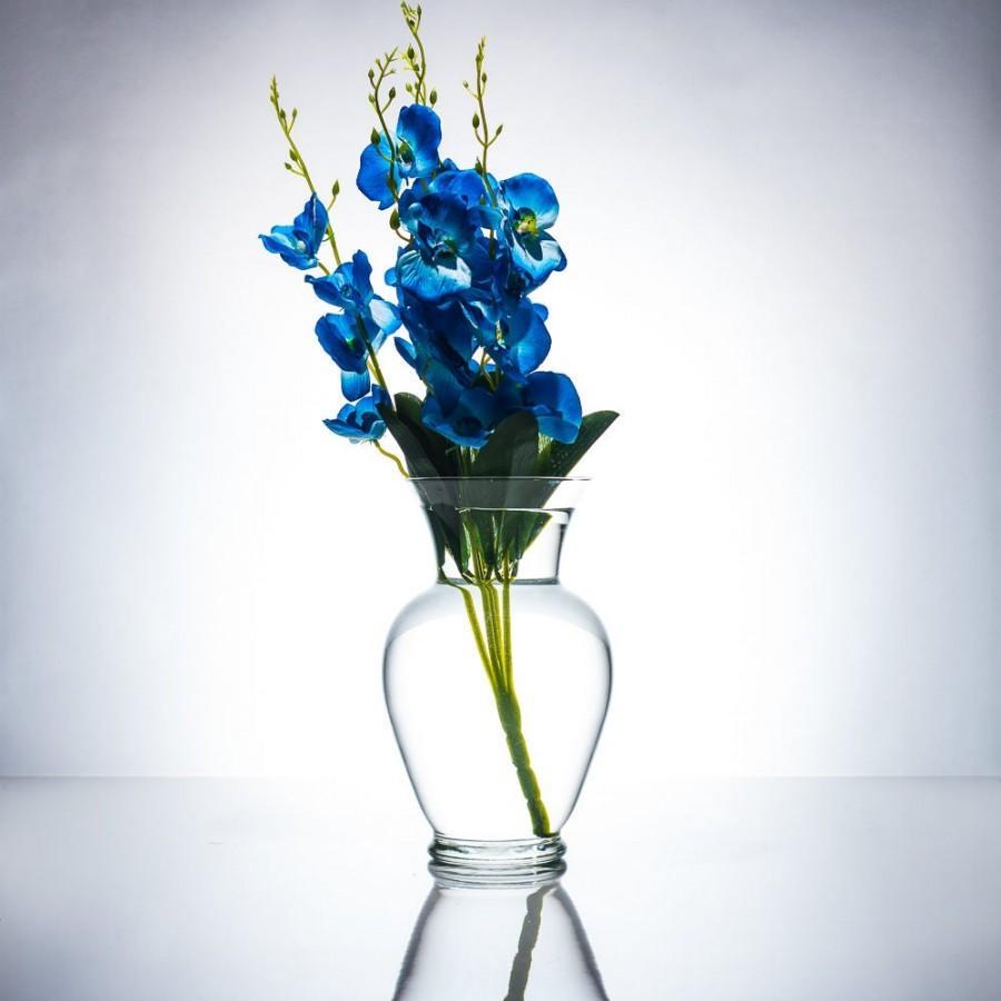 Hochzeit - Blue/Purple/White/White with purple Orchids