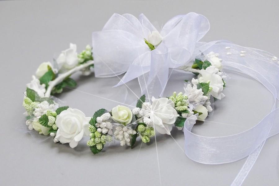 Mariage - Hair Wreath communion Wreath communion, No. 19, (400.6.011)
