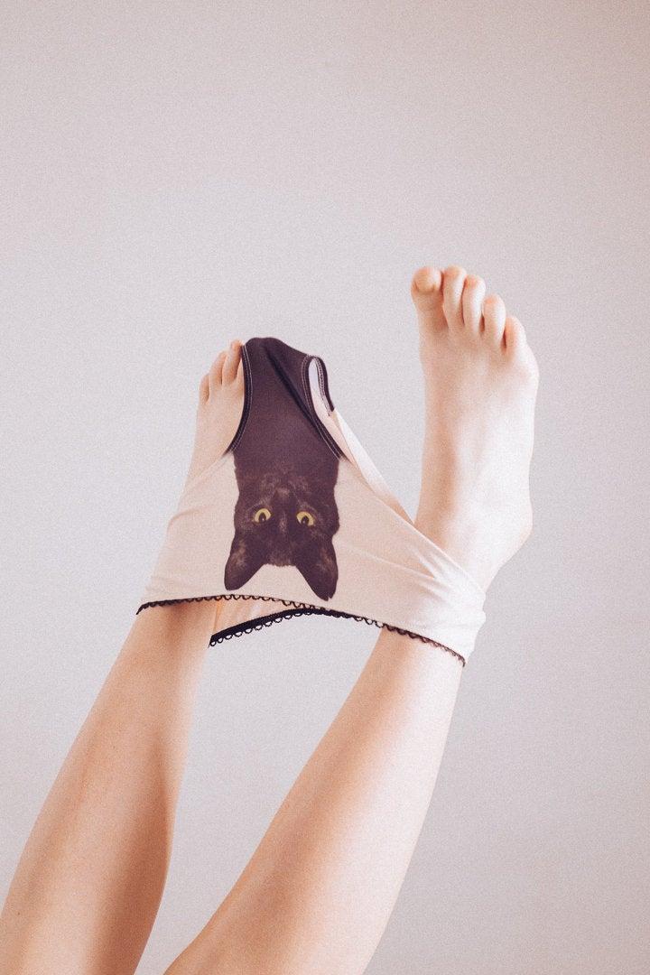 Wedding - Experienced fighter - black cat underwear