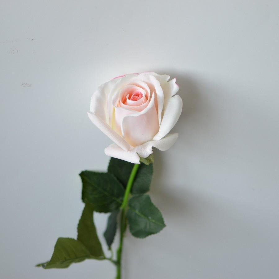 Wedding - Blush Roses, Real Touch Medium Roses, DIY Wedding Flowers, Silk Bridal Bouquets, Wedding Centerpieces