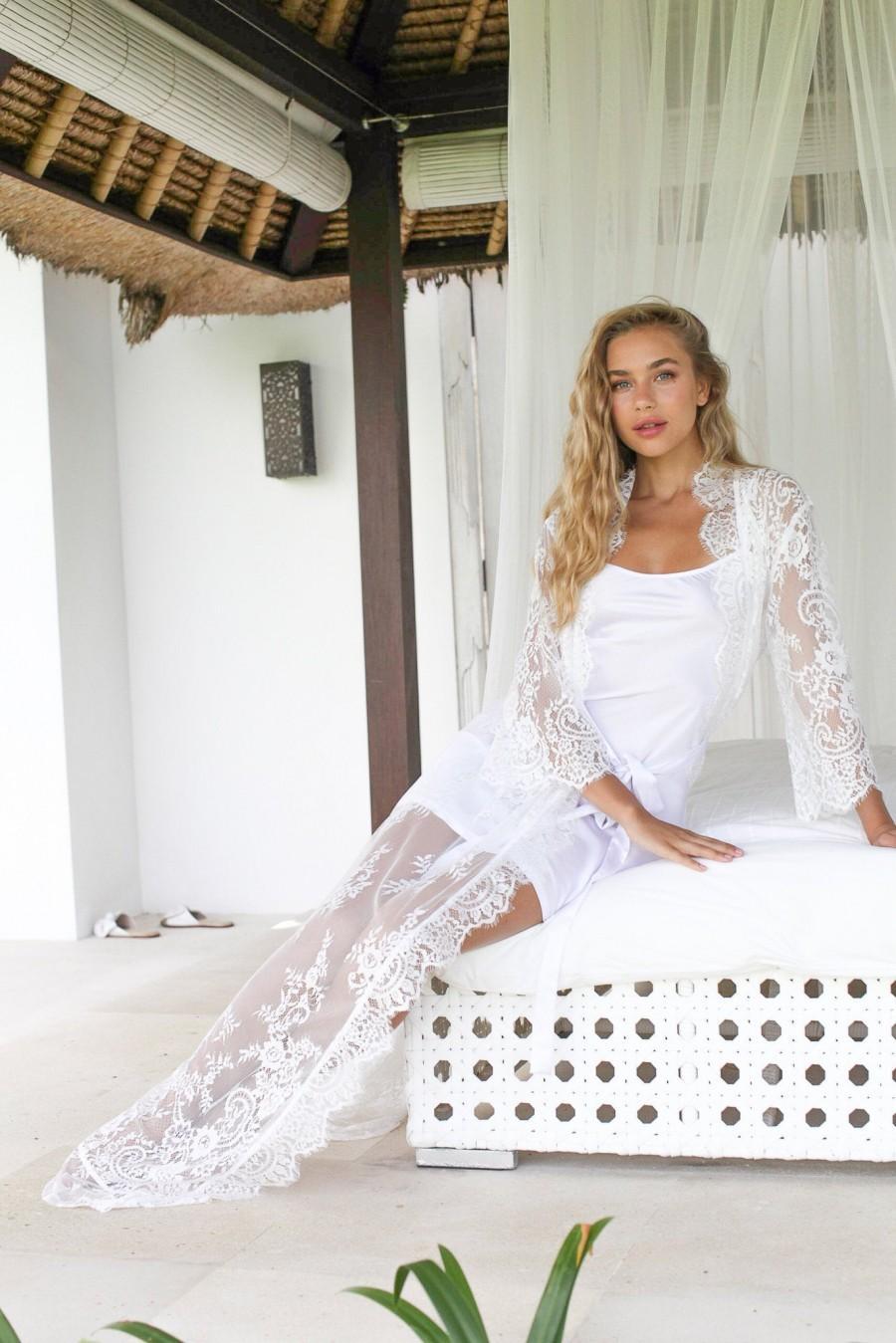 Mariage - Bridal Shower Gift Bridal Gift  Bridal Robe