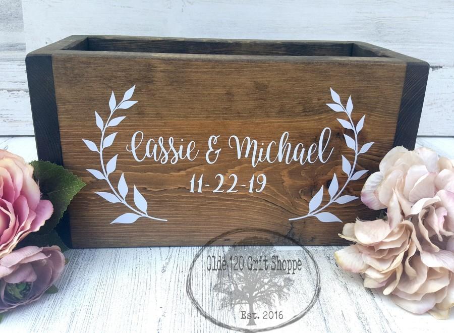 Wedding - Wedding box for cards
