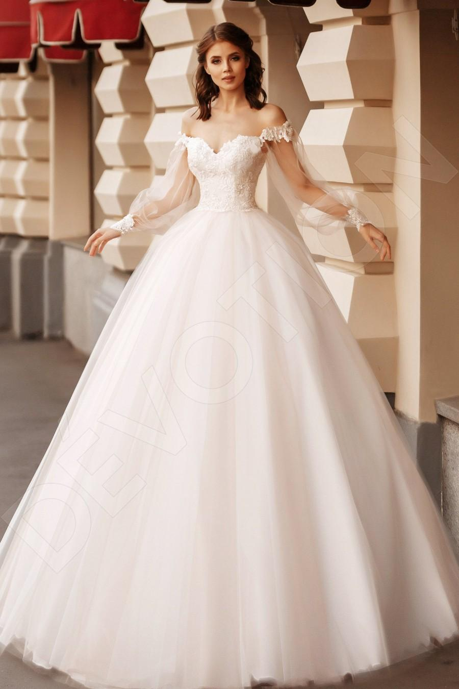 زفاف - Individual size Princess/Ball Gown silhouette Camilla wedding dress. Elegant style by DevotionDresses