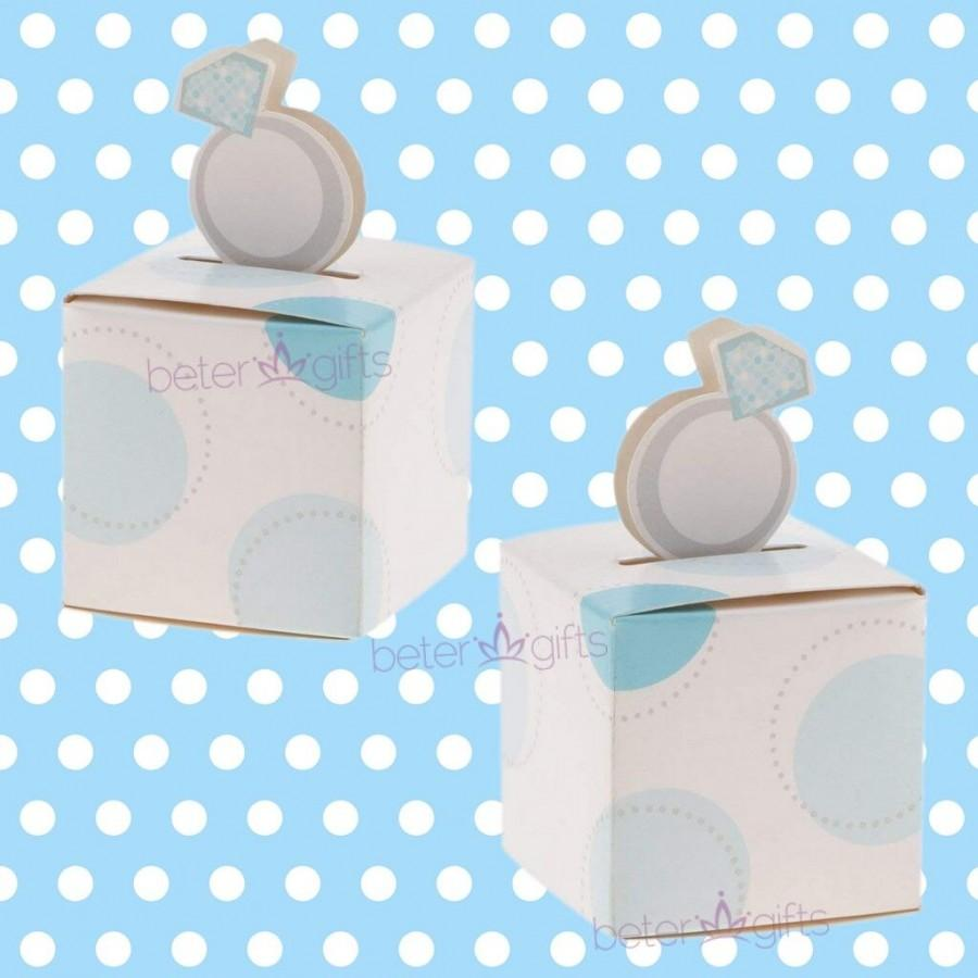 Mariage - Birthday Baby #NewBornBoy #FavorBox #candybox TH019 #diyparty