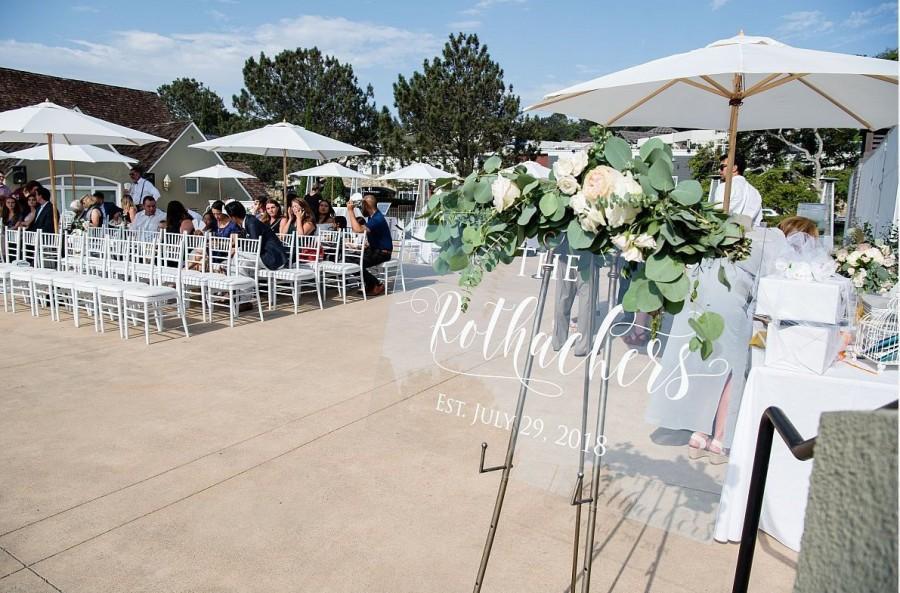 Wedding - Wedding Welcome Sign