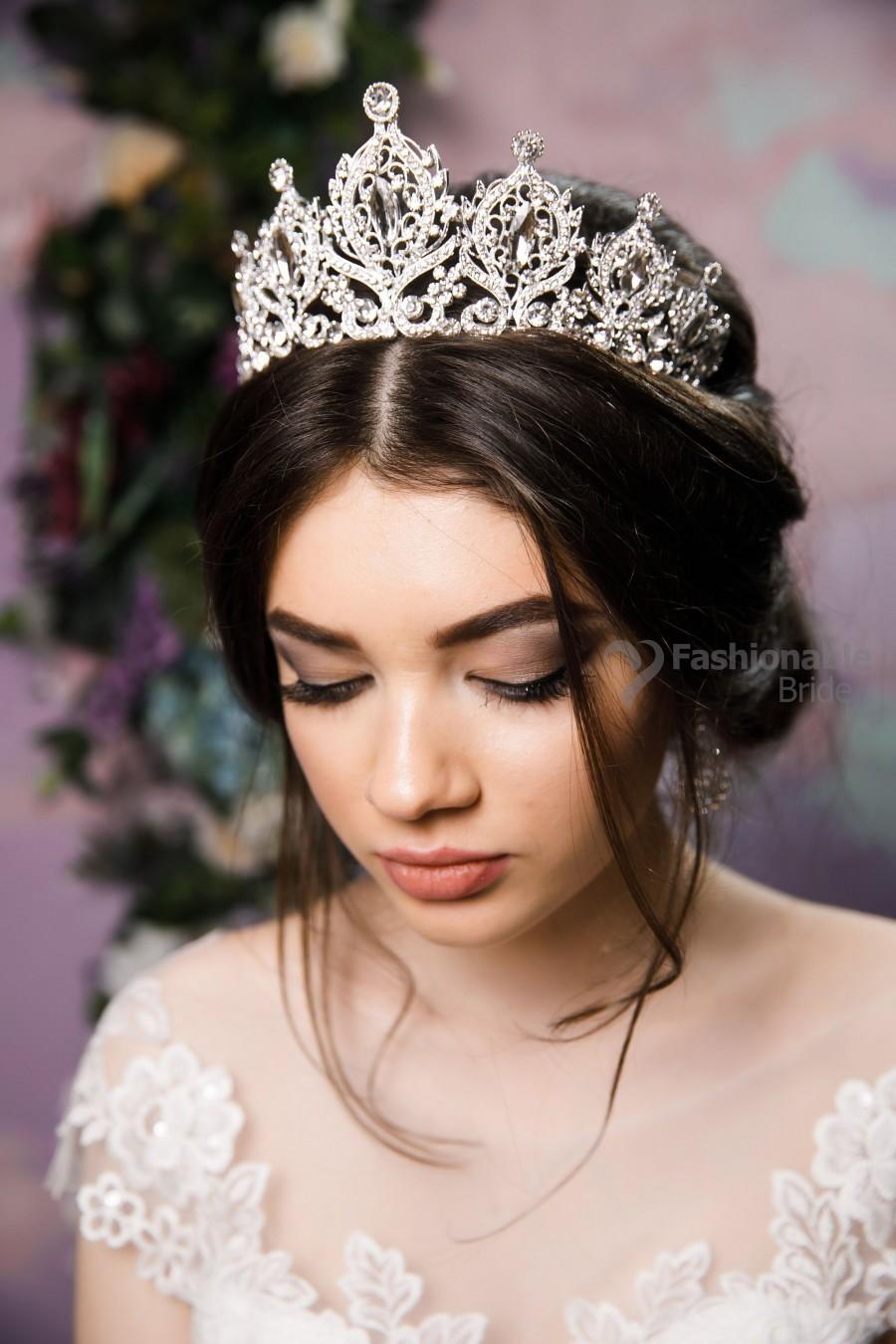 Hochzeit - Tiara,Bridal Tiara,Wedding Tiara,Gold Tiara,Wedding Tiara,Silver Tiara.