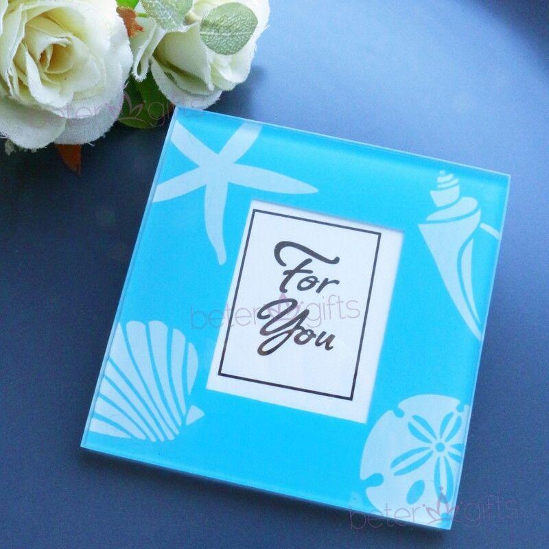 Hochzeit - #AquariumWedding #GlassCoaster #Starfish BD036 Wedding Favors