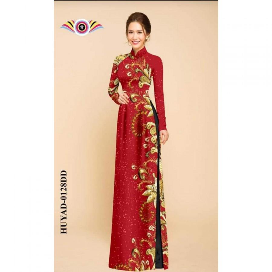 Hochzeit - Pre made: Vietnamese dress ( Ao dài truyền thống )-