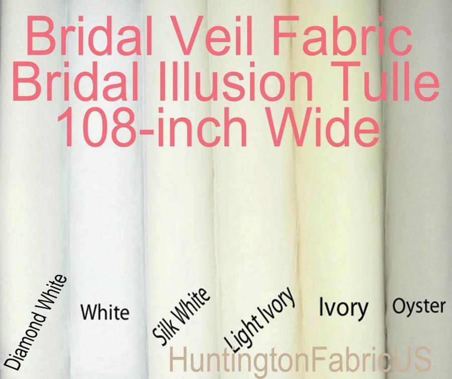 Wedding - Bridal Veil Fabric