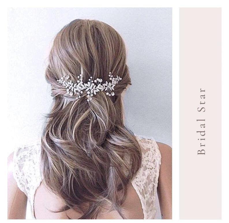 Wedding - Bridal hair comb Wedding hair accessories wedding hair clip wedding hair piece bridal hair accessory bridal hair piece bridal hair vine