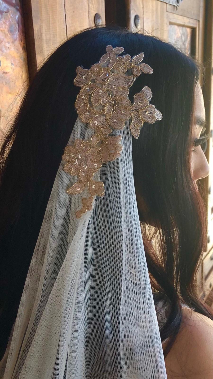 Mariage - Boho veil