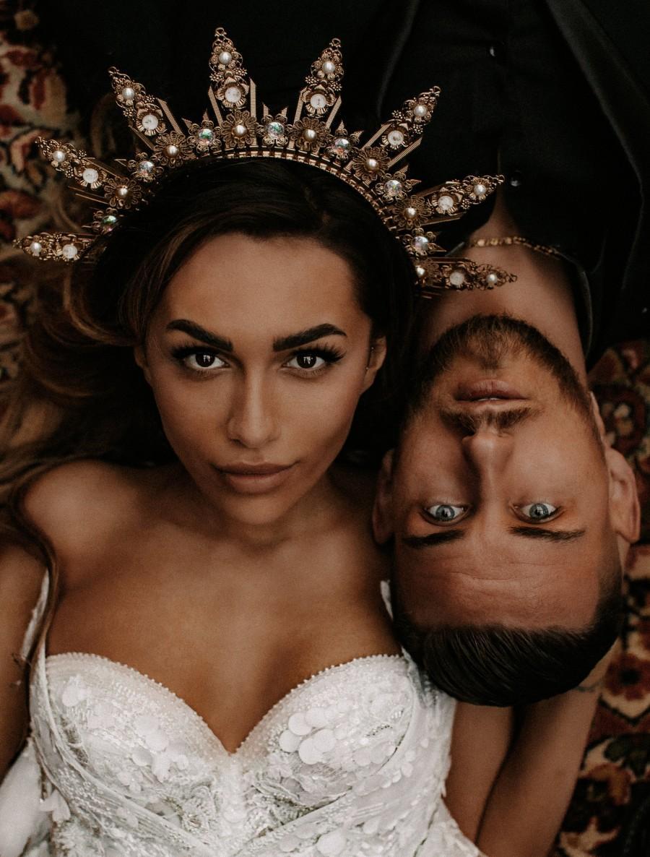 Wedding - Boho Wedding, Gold Halo, Boho Wedding Crown, Wedding headpiece, Boho Wedding Tiara,  Met Gala Crown, Sunburst Crown, Halo Crown, Headpiece
