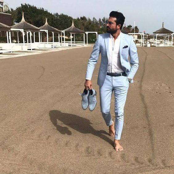 Mariage - Men Suits, Formal Fashion, Summer Suits, 2 Piece Dinner Suits, Wedding Suit For Men