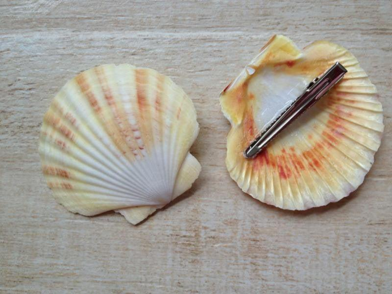 Wedding - Shell Hair Clip Ocean Hair Style Beach Wedding Mermaid Costume Halloween Music Festival Hippie Peace Summer Surfer Girl Scallop Beach Babe