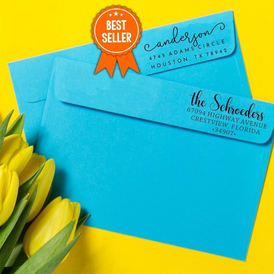 Wedding - Best Rated Address Stamp