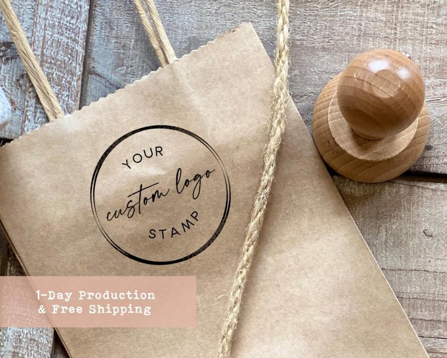 Wedding - Custom Logo Stamp, Personalized Stamp, Business Stamp,  Self Ink, Branding Stamp, Rubber Stamps,