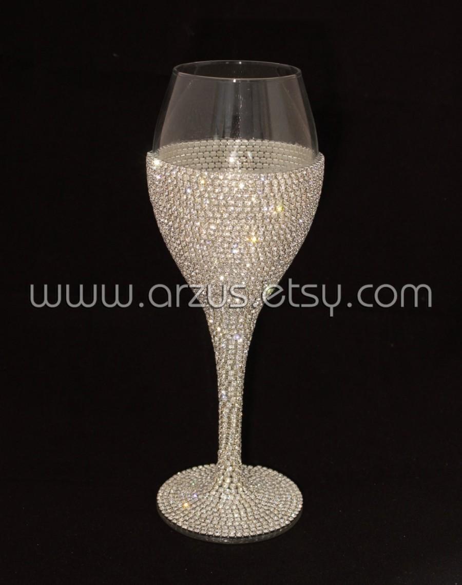 Wedding - Custom Wedding Glasses Toasting Glasses Wine Glasses Toasting Flutes For Bride and Groom Table Settings Wedding Gift Decorations