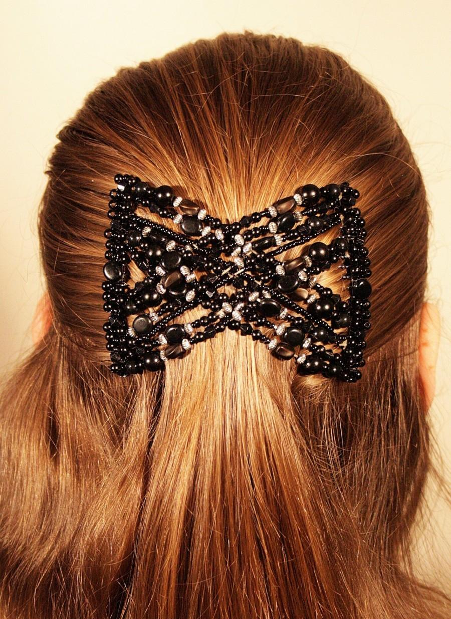 Wedding - Magic Hair Clip Stretchy EZ Double Comb For Different Hairstyles