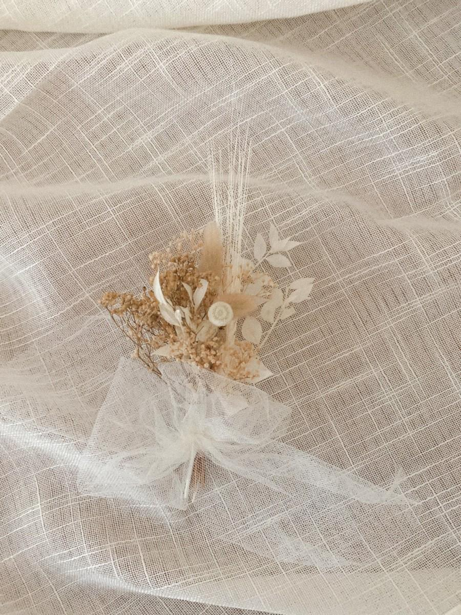 Wedding - Micro bouquets Dried mini bouquets Dried bouquets Dried flowers Dried boho flowers Small dried bouquet