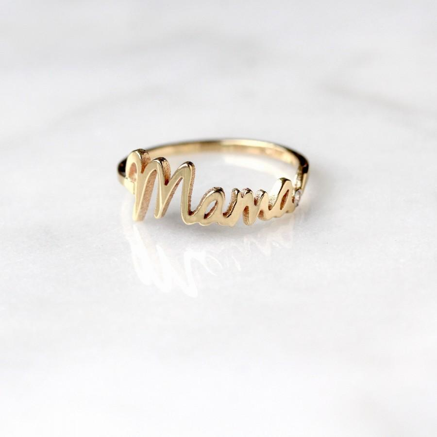 Wedding - MAMA Diamond Ring