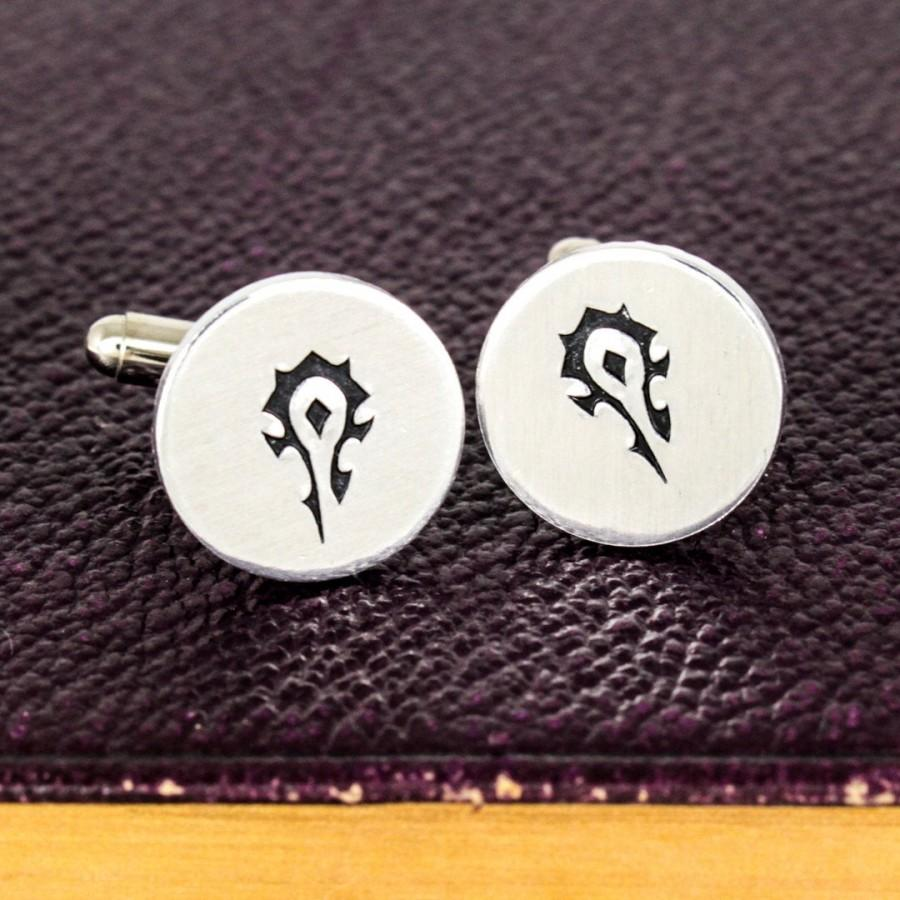 Wedding - Horde Cuff Links , Horde Jewelry