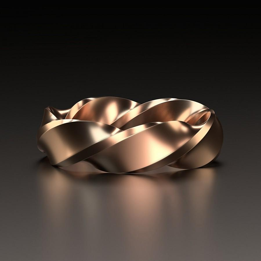 زفاف - STL 3D model Jewelry CAD file for 3D printing/CNC/twisted ring/3D jewelry/wedding ring/file for 3D pinting/jewelry cad/