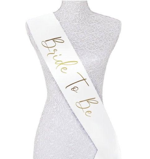 Hochzeit - Custom bride to be  Future Mrs Personalized Bachelorette Bride Sash - Any Color sash and print