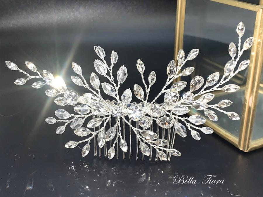 Свадьба - crystal hair comb, bridal hair clip, wedding hair clip, crystal bridal comb, wedding comb, crystal bridal comb, wedding comb,