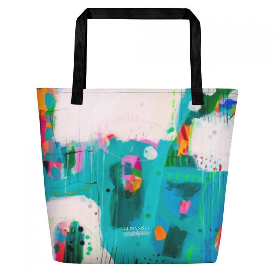 """Mariage - Bag """"Pavilion"""" by Mirna Sišul, unique, colorful, happy, ideal as a gift for unique woman, free shipping"""