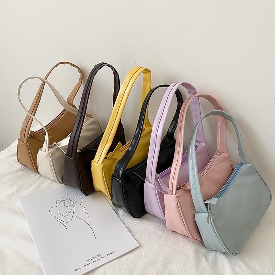 زفاف - Y2K Baguette Bag, Vintage Baguette Bag, Small Tote Bag, 90s Retro Bag, Baguette Bag, Underarm Bag, E-Girl Y2K Handbag, Y2K Tote Bag, Gift