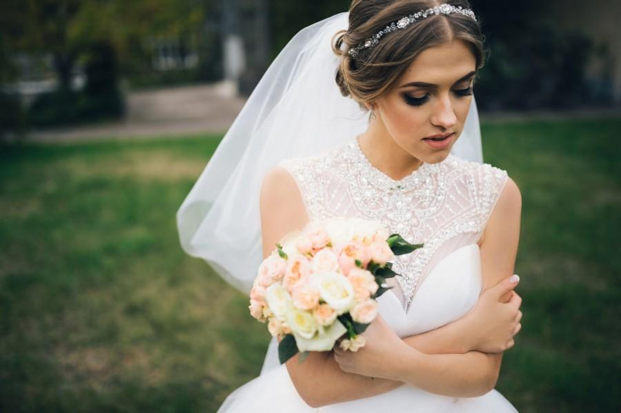 Mariage - Crystal wedding headpiece Bridal headband silver Crystal bridal vine Silver headpiece Bridal halo Bridal hair vine