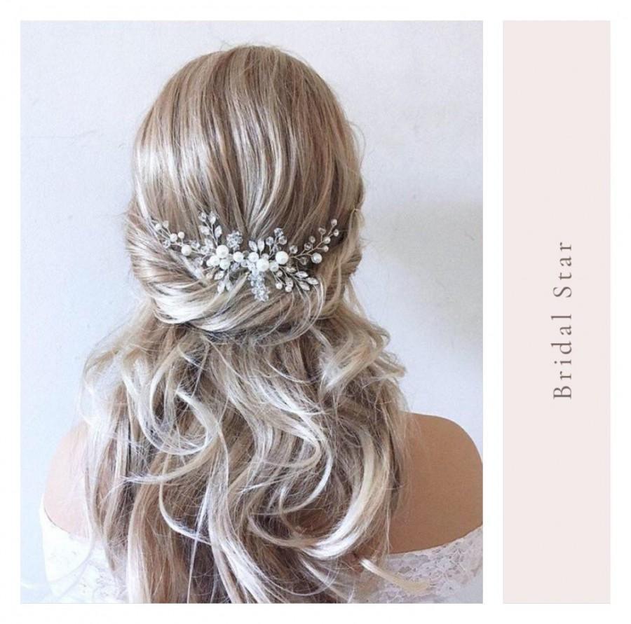 Wedding - Wedding hair piece,hair vine,Bridal hair comb, wedding hair comb, bridal hair pins, bridal hair combs, bridal hair piece, crystal hair combs