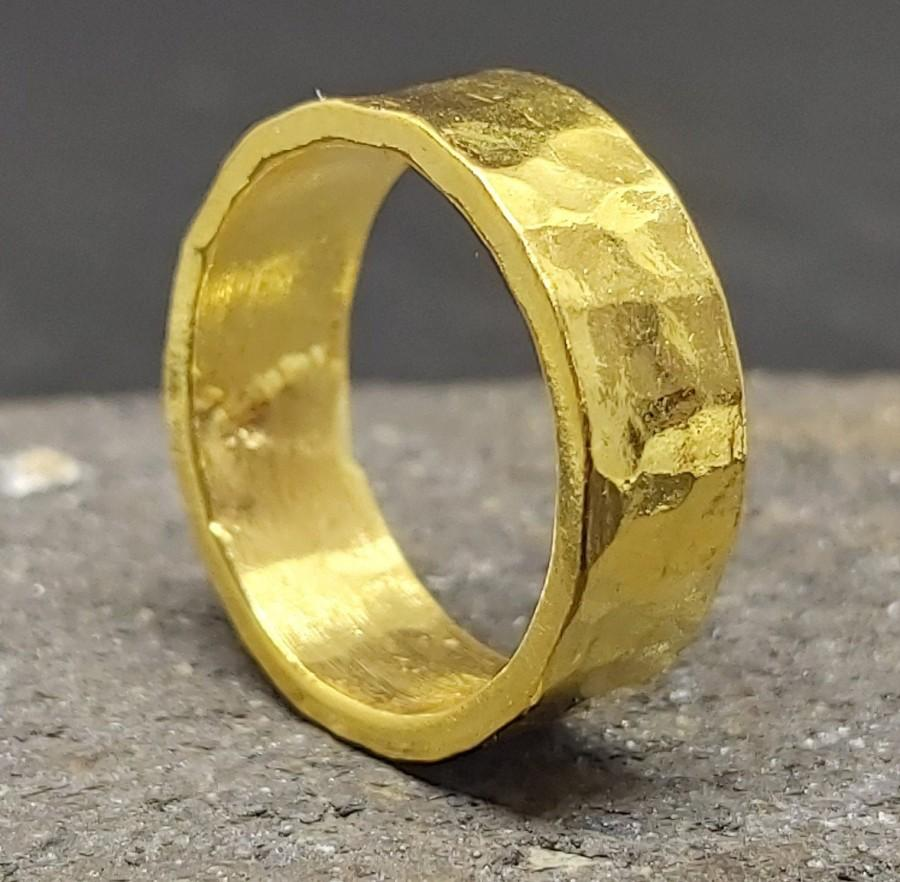 زفاف - 6mm Band Ring Solid Sterling