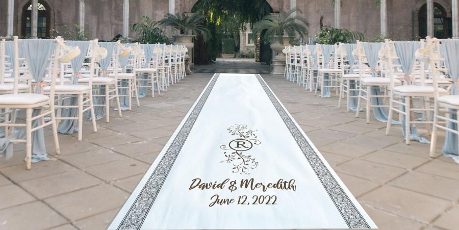 زفاف - Wedding Aisle Runner, Custom Aisle Runner, Personalized Aisle Runner,  Wedding Decor, Rustic Wedding, Wedding Signage, Wedding Ceremony