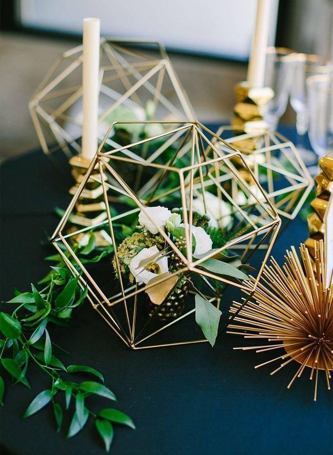 Mariage - Glass-less Terrarium/Terrarium Frame/ Glass Geometric Terrarium/ Wedding Table Decor/ Terrarium Kit/ Terrarium Gift/ Terrarium Centerpiece