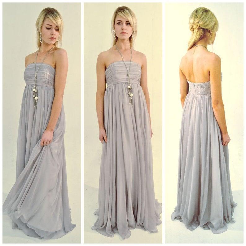 Свадьба - Empire waist dress / Flattering style easy flowing dress / perfect for beach weddings or elopements / pregnancy or postpartum / Danica