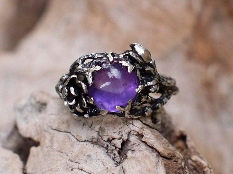 """Mariage - Amethyst Ring """"Fay"""""""