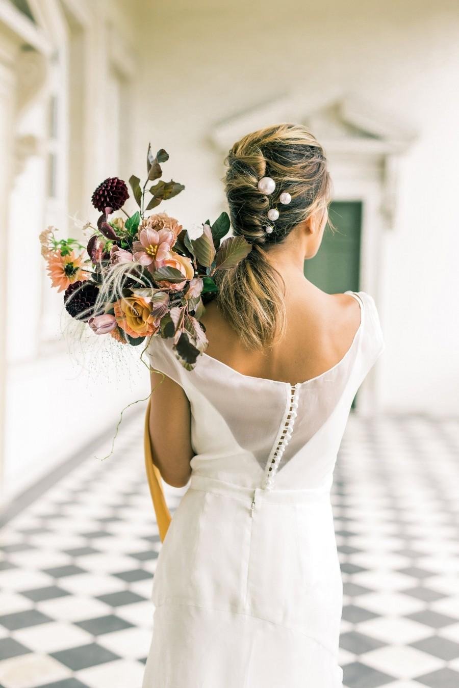 Wedding - Pearl Hair Pins