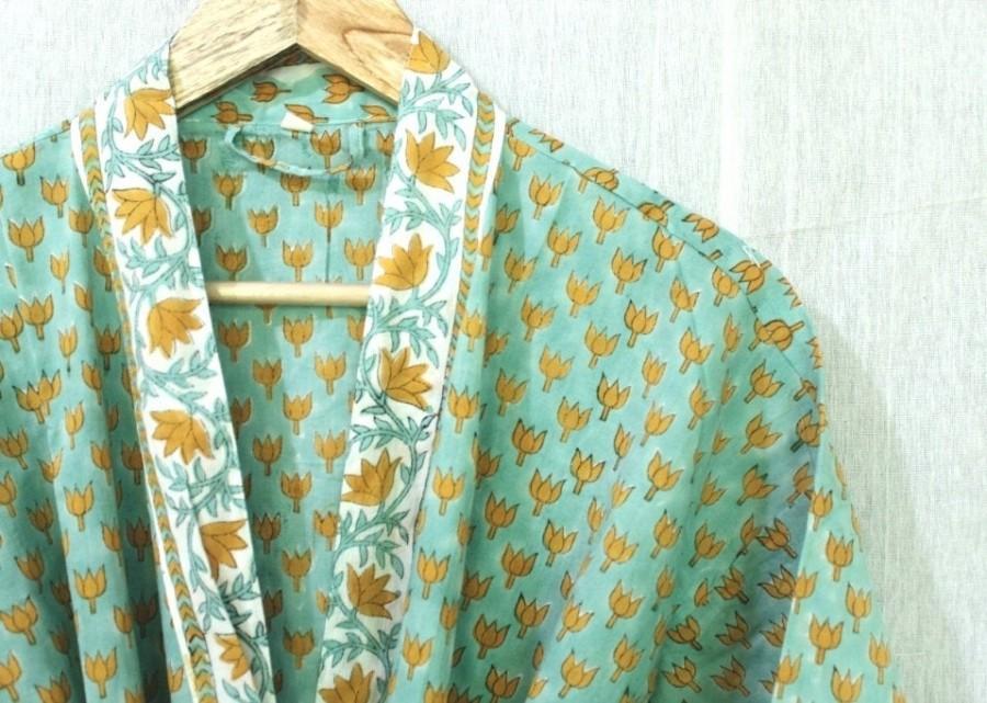 Wedding - 100% Cotton kimono Robes, Pure cotton Kimono, Cotton Kimono, Festival Clothing, Kimono Kaftan, Oriental Kimono, Women's robes # 544
