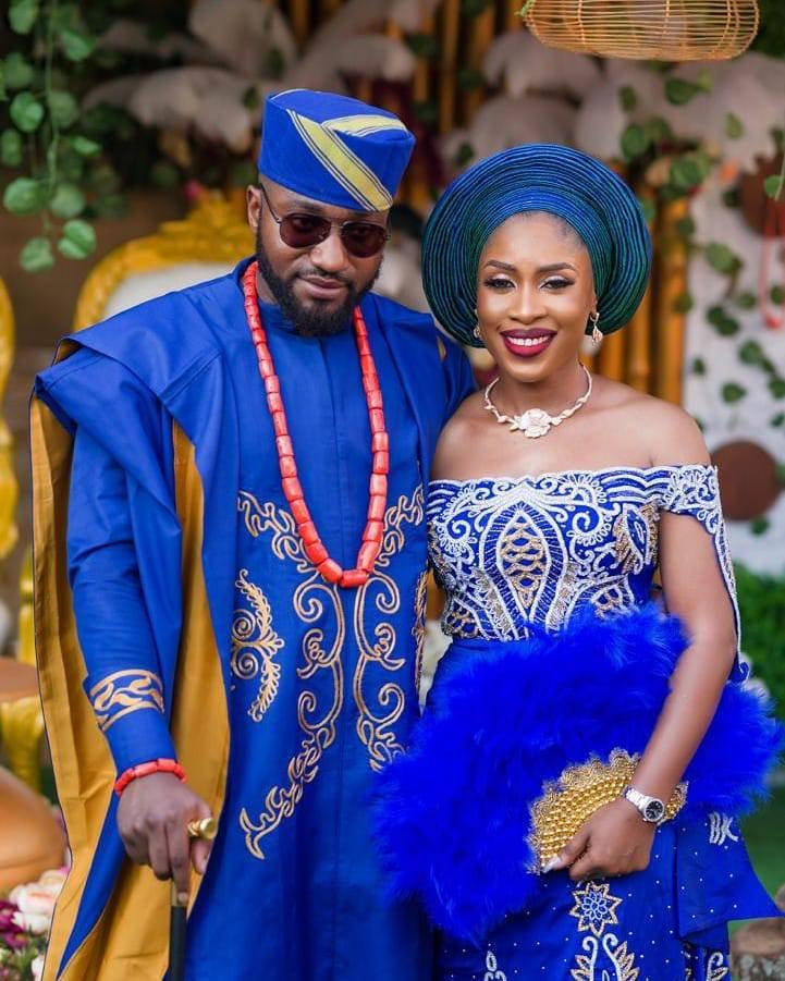 Wedding - Royal Blue AGBADA, AGBADA for men, Agbada style men, African wedding suit, Groom's suit, Men's traditional wear, African men's clothing