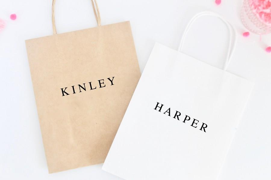 Свадьба - Personalized Gift Bag - Gift Bag - Bridesmaid Gift Bag - Bachelorette Party Gift Bag - Bridesmaid Gift - Bride Tribe Gift Bag - Welcome Bag