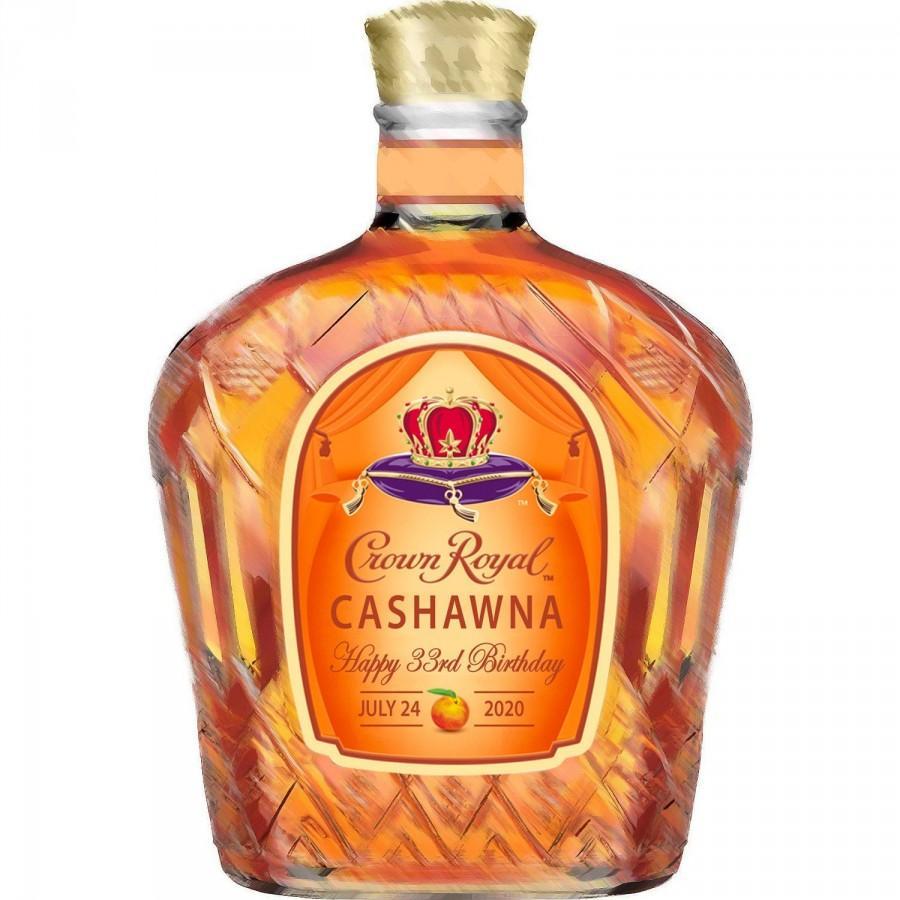 Wedding - PRINTED bourbon peach label, whiskey label, custom valentines label, custom whiskey label, groomsmen proposal custom liquor label, boyfriend