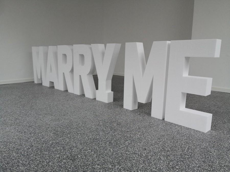 Mariage - Lettering MARRY ME Letters Styrofoam Wedding Marriage Proposal Event Wedding Agency Planning Design Engagement Dream Wedding Background