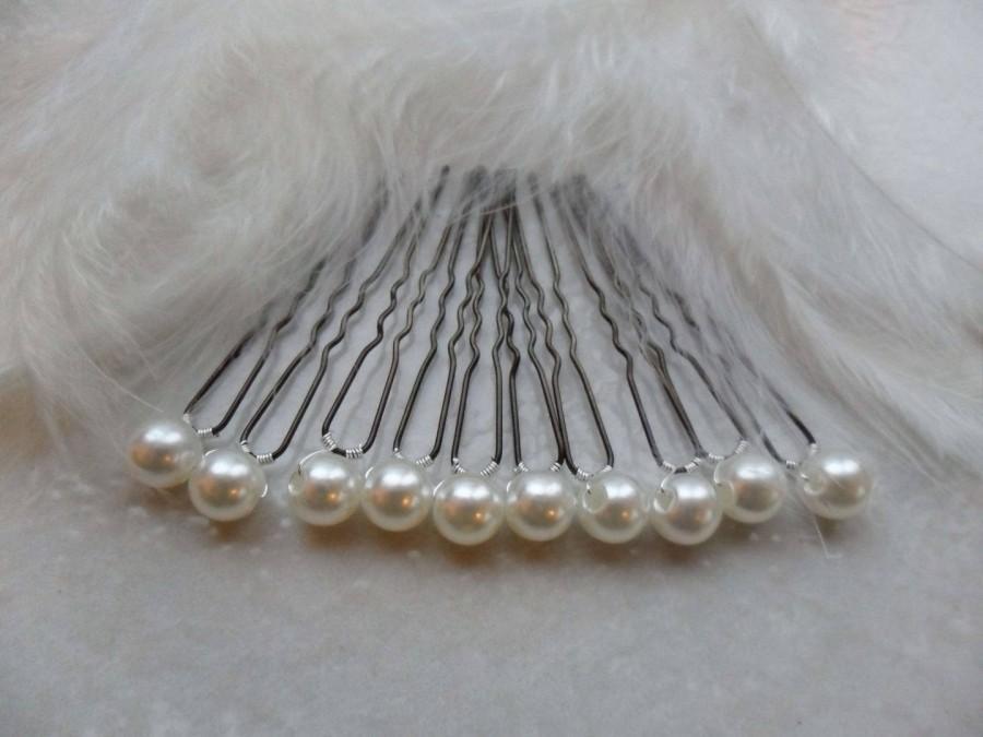 Свадьба - 10 Wedding Wedding Pearl ivory accessories bridal hairstyle