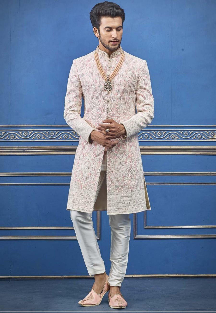 Mariage - Indian Wedding Sherwani,mens wedding wear,wedding sherwani,groom sherwani for wedding,designer wedding sherwani,sherwani with dupatta