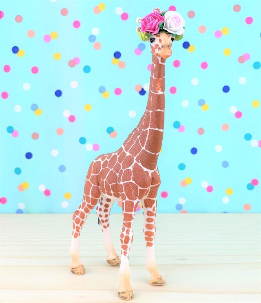 Свадьба - Giraffe Cake Topper/Safari Party Cake/Safari Animal Cake Toppers/Party Animals